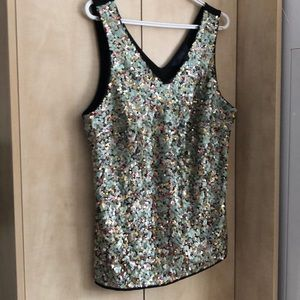 Rachel Roy sequin top